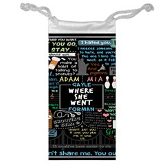Book Quote Collage Jewelry Bag by BangZart