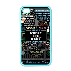 Book Quote Collage Apple Iphone 4 Case (color) by BangZart