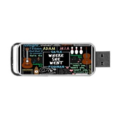 Book Quote Collage Portable Usb Flash (two Sides) by BangZart