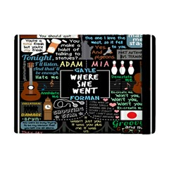 Book Quote Collage Apple Ipad Mini Flip Case by BangZart