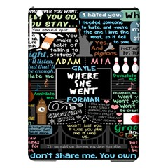 Book Quote Collage Ipad Air Hardshell Cases
