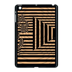 Wooden Pause Play Paws Abstract Oparton Line Roulette Spin Apple Ipad Mini Case (black) by BangZart