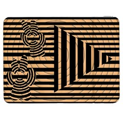 Wooden Pause Play Paws Abstract Oparton Line Roulette Spin Samsung Galaxy Tab 7  P1000 Flip Case by BangZart