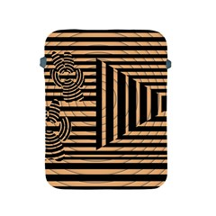 Wooden Pause Play Paws Abstract Oparton Line Roulette Spin Apple Ipad 2/3/4 Protective Soft Cases by BangZart