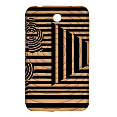 Wooden Pause Play Paws Abstract Oparton Line Roulette Spin Samsung Galaxy Tab 3 (7 ) P3200 Hardshell Case  by BangZart