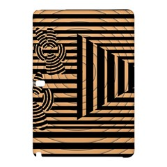 Wooden Pause Play Paws Abstract Oparton Line Roulette Spin Samsung Galaxy Tab Pro 12 2 Hardshell Case by BangZart