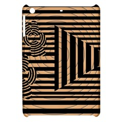 Wooden Pause Play Paws Abstract Oparton Line Roulette Spin Apple Ipad Mini Hardshell Case by BangZart