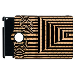 Wooden Pause Play Paws Abstract Oparton Line Roulette Spin Apple Ipad 2 Flip 360 Case