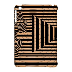 Wooden Pause Play Paws Abstract Oparton Line Roulette Spin Apple Ipad Mini Hardshell Case (compatible With Smart Cover) by BangZart