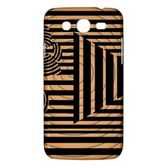 Wooden Pause Play Paws Abstract Oparton Line Roulette Spin Samsung Galaxy Mega 5 8 I9152 Hardshell Case  by BangZart