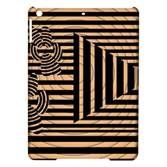 Wooden Pause Play Paws Abstract Oparton Line Roulette Spin Ipad Air Hardshell Cases