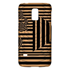 Wooden Pause Play Paws Abstract Oparton Line Roulette Spin Galaxy S5 Mini