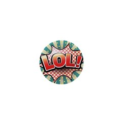 Lol Comic Speech Bubble  Vector Illustration 1  Mini Buttons by BangZart