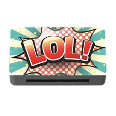 Lol Comic Speech Bubble  Vector Illustration Memory Card Reader With Cf by BangZart