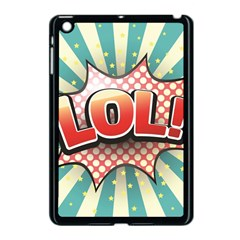 Lol Comic Speech Bubble  Vector Illustration Apple Ipad Mini Case (black)