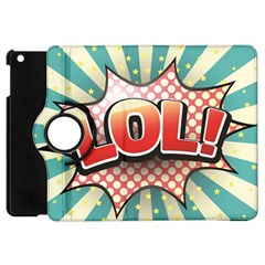 Lol Comic Speech Bubble  Vector Illustration Apple Ipad Mini Flip 360 Case