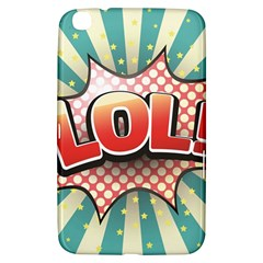 Lol Comic Speech Bubble  Vector Illustration Samsung Galaxy Tab 3 (8 ) T3100 Hardshell Case