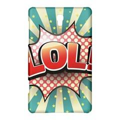 Lol Comic Speech Bubble  Vector Illustration Samsung Galaxy Tab S (8 4 ) Hardshell Case