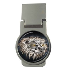 Lion Robot Money Clips (round)
