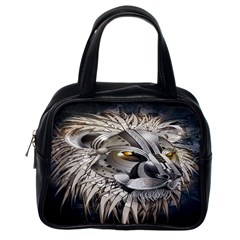 Lion Robot Classic Handbags (one Side)