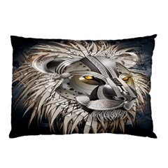 Lion Robot Pillow Case