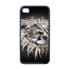 Lion Robot Apple Iphone 4 Case (black)