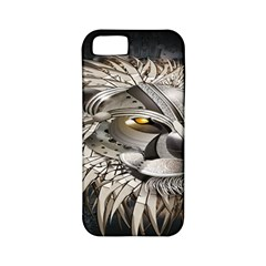 Lion Robot Apple Iphone 5 Classic Hardshell Case (pc+silicone)
