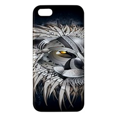 Lion Robot Iphone 5s/ Se Premium Hardshell Case