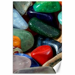 Stones Colors Pattern Pebbles Macro Rocks Canvas 20  X 30