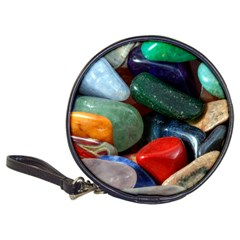 Stones Colors Pattern Pebbles Macro Rocks Classic 20 Cd Wallets