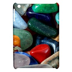 Stones Colors Pattern Pebbles Macro Rocks Apple Ipad Mini Hardshell Case by BangZart