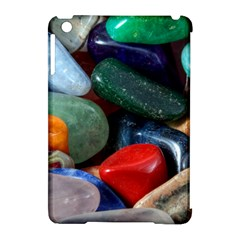 Stones Colors Pattern Pebbles Macro Rocks Apple Ipad Mini Hardshell Case (compatible With Smart Cover) by BangZart