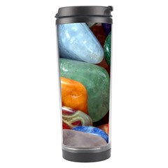 Stones Colors Pattern Pebbles Macro Rocks Travel Tumbler