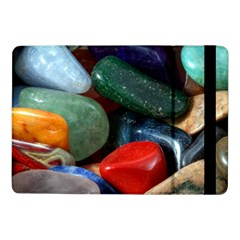Stones Colors Pattern Pebbles Macro Rocks Samsung Galaxy Tab Pro 10 1  Flip Case by BangZart