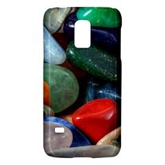 Stones Colors Pattern Pebbles Macro Rocks Galaxy S5 Mini by BangZart