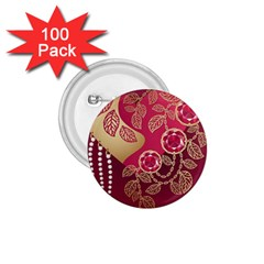 Love Heart 1 75  Buttons (100 Pack)  by BangZart