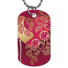 Love Heart Dog Tag (one Side) by BangZart