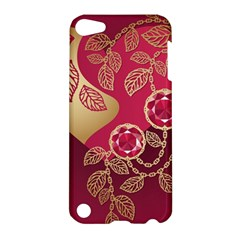 Love Heart Apple Ipod Touch 5 Hardshell Case by BangZart