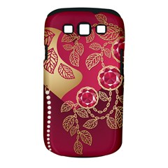 Love Heart Samsung Galaxy S Iii Classic Hardshell Case (pc+silicone) by BangZart