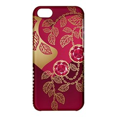 Love Heart Apple Iphone 5c Hardshell Case by BangZart