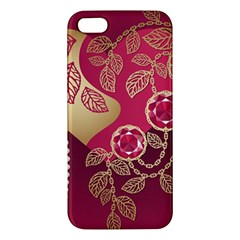 Love Heart Iphone 5s/ Se Premium Hardshell Case