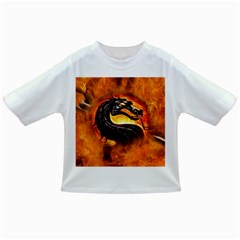 Dragon And Fire Infant/toddler T Shirts