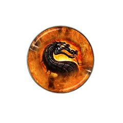 Dragon And Fire Hat Clip Ball Marker (10 Pack)