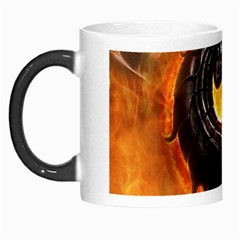 Dragon And Fire Morph Mugs