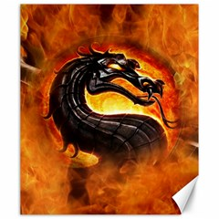 Dragon And Fire Canvas 20  X 24   by BangZart