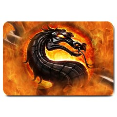 Dragon And Fire Large Doormat