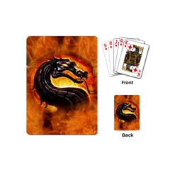 Dragon And Fire Playing Cards (mini)