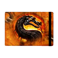 Dragon And Fire Apple Ipad Mini Flip Case by BangZart