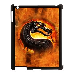 Dragon And Fire Apple Ipad 3/4 Case (black)