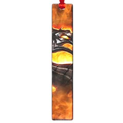 Dragon And Fire Large Book Marks